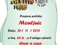 Cartell Castell de Montjuic